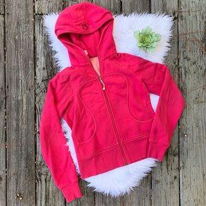 Lululemon Pink Sweatshirt Hoodie Jacket